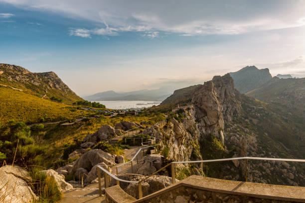 Blick über die Küste auf die Bucht von Alcudia – Foto
