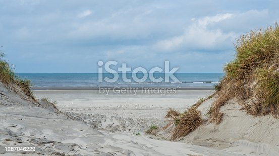 istock View over the dunes of Ameland, Holland 1287046229