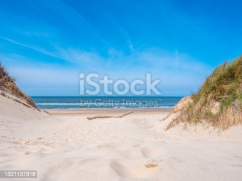 istock View over the dunes towards the Northsea. The Netherlands 1321137318