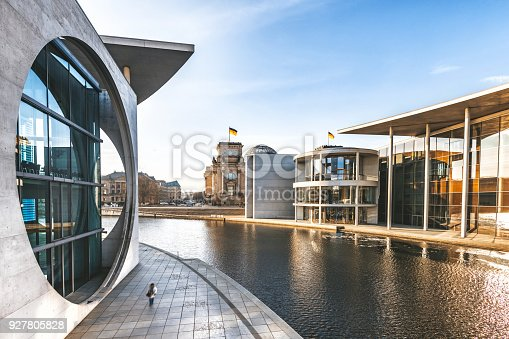 istock view over the government district in Berlin 927805828