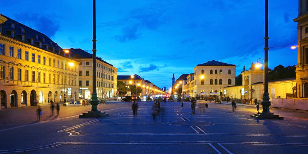 View over the Odeonsplatz in Munich – Foto