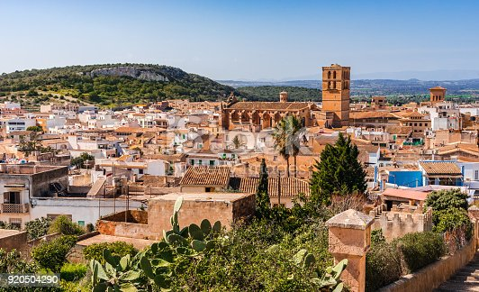 istock View over the roofs of the old town of Felanitx, Majorca Spain 920504290
