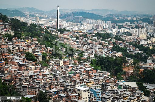 A favela is a unique, low and middle-income, and unregulated informal settlement neighborhood in Brazil that has experienced historical governmental neglect.
