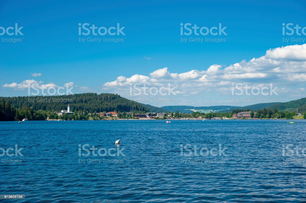 View Over The Titisee Lake In The Black Forest Stock Photo Download Image Now Istock