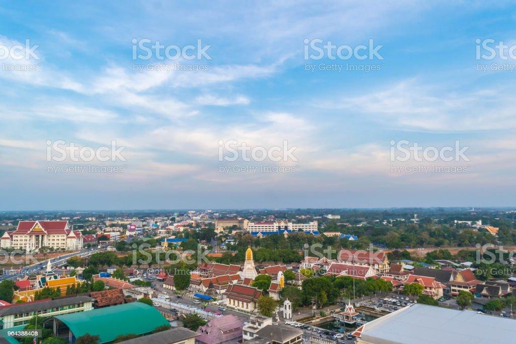 Ver os Phitsanulok e o antigo templo na Tailândia antiga eu - Foto de stock de Abençoando royalty-free