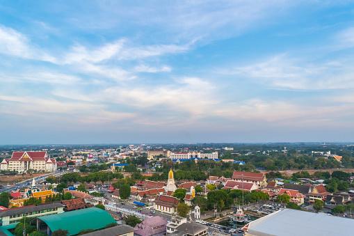 Foto de Ver Os Phitsanulok E O Antigo Templo Na Tailândia Antiga Eu e mais fotos de stock de Abençoando