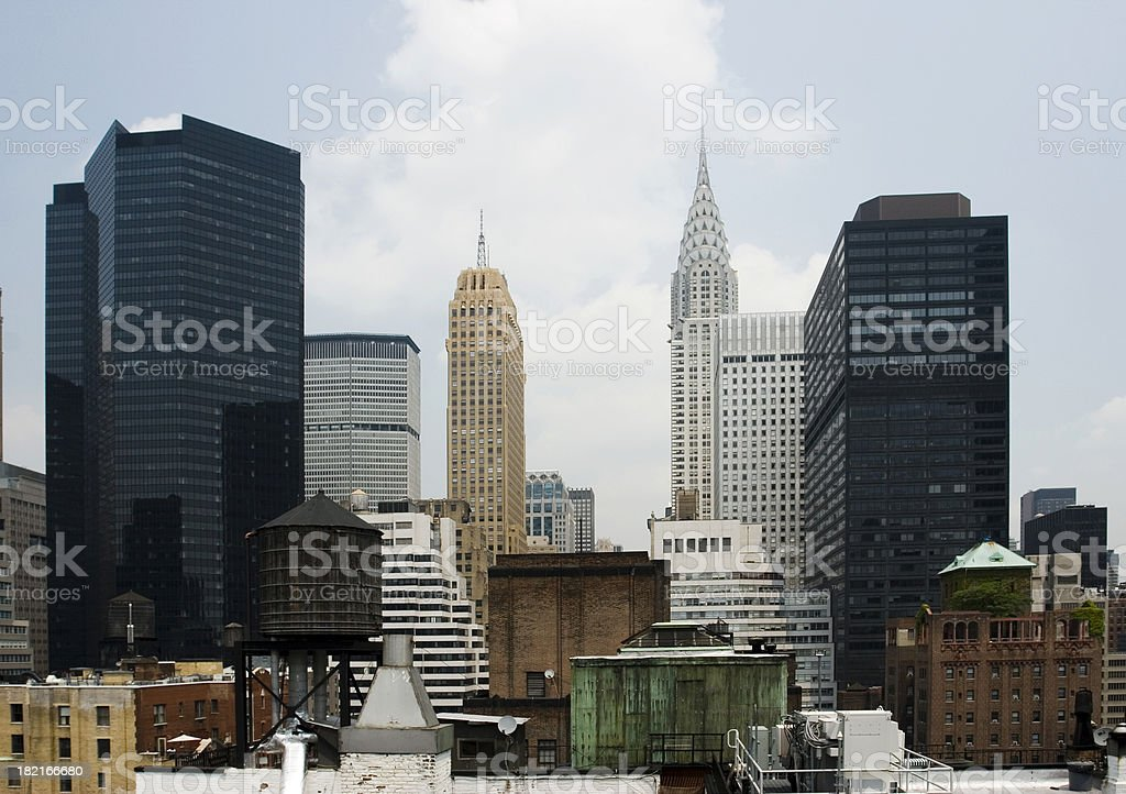 NYC view stock photo