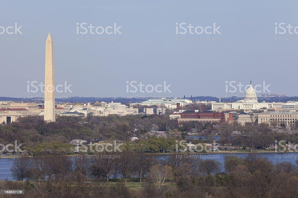 DC View royalty-free stock photo