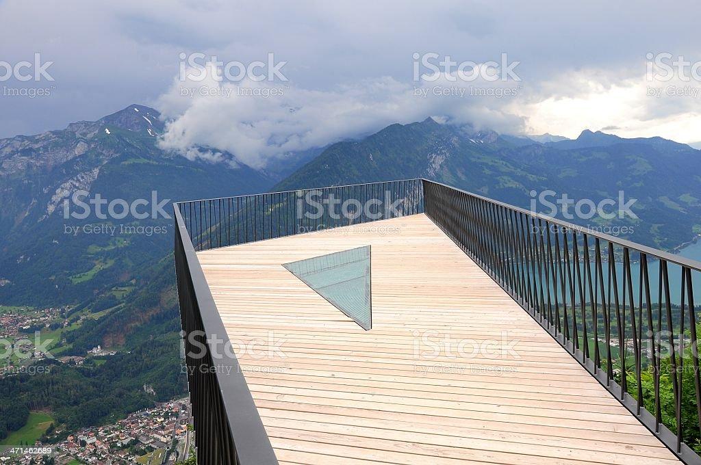 View point above Interlaken. royalty-free stock photo