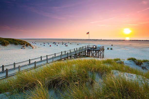Aussichtspunkt am Strand von AMRUM – Foto