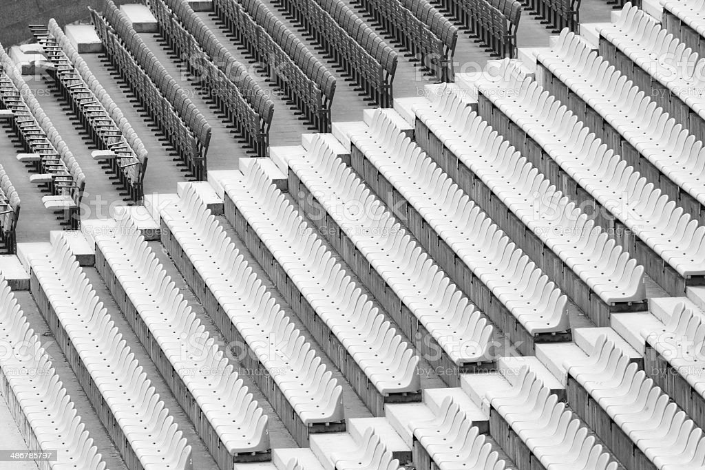 Brilliant View Rows Of Benches Stadium Stock Photo More Pictures Of Alphanode Cool Chair Designs And Ideas Alphanodeonline