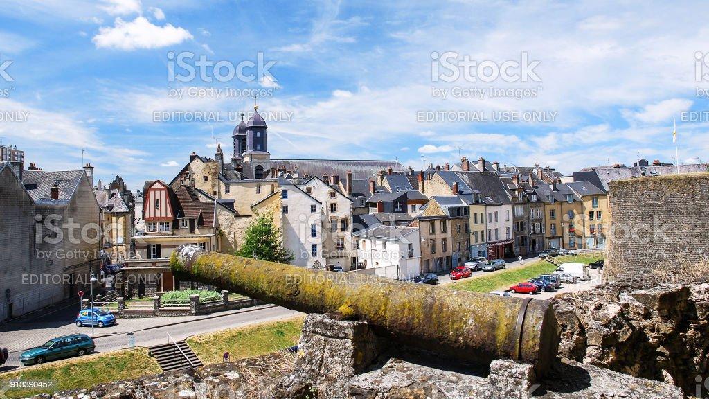 Découvre la ville de Sedan de rempart du château de Sedan - Photo