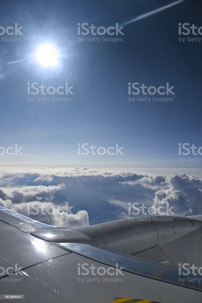 View through a porthole royalty-free stock photo