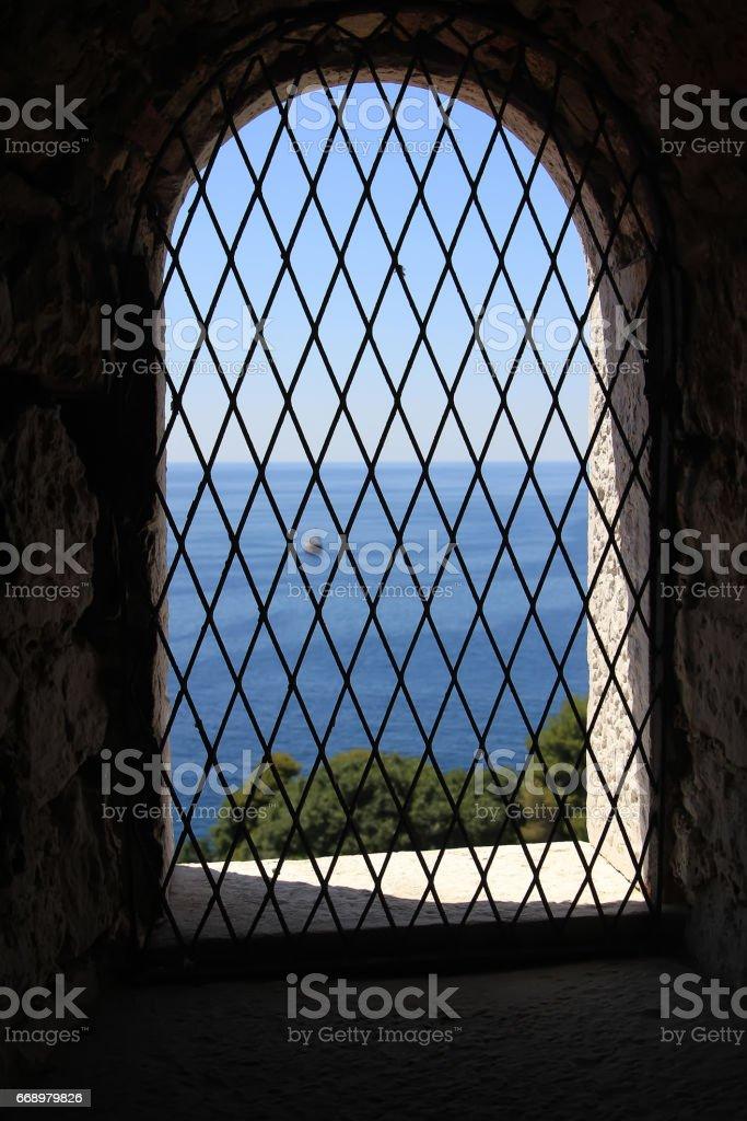 View through the window foto stock royalty-free