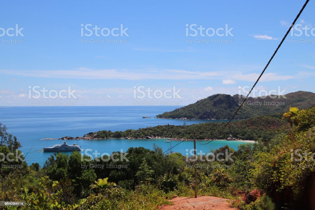 View to Anse Lazio, Praslin, Seychelles, Indian Ocean, Africa - Royalty-free Africa Stock Photo