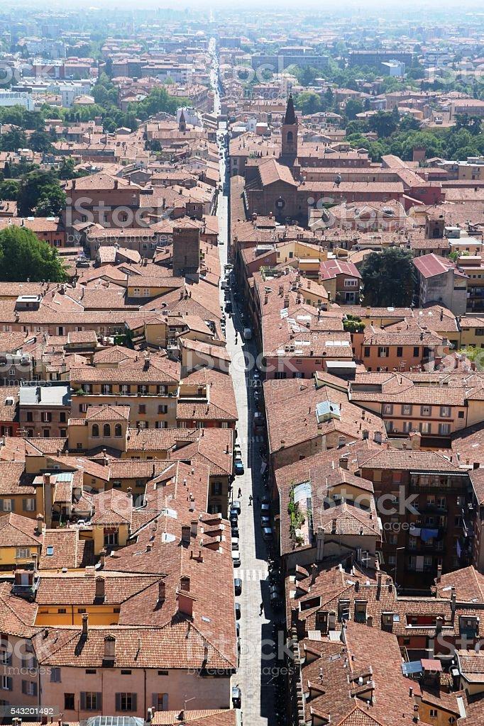 View To Church San Giacomo Maggiore In Bologna Italy Stock Photo ...