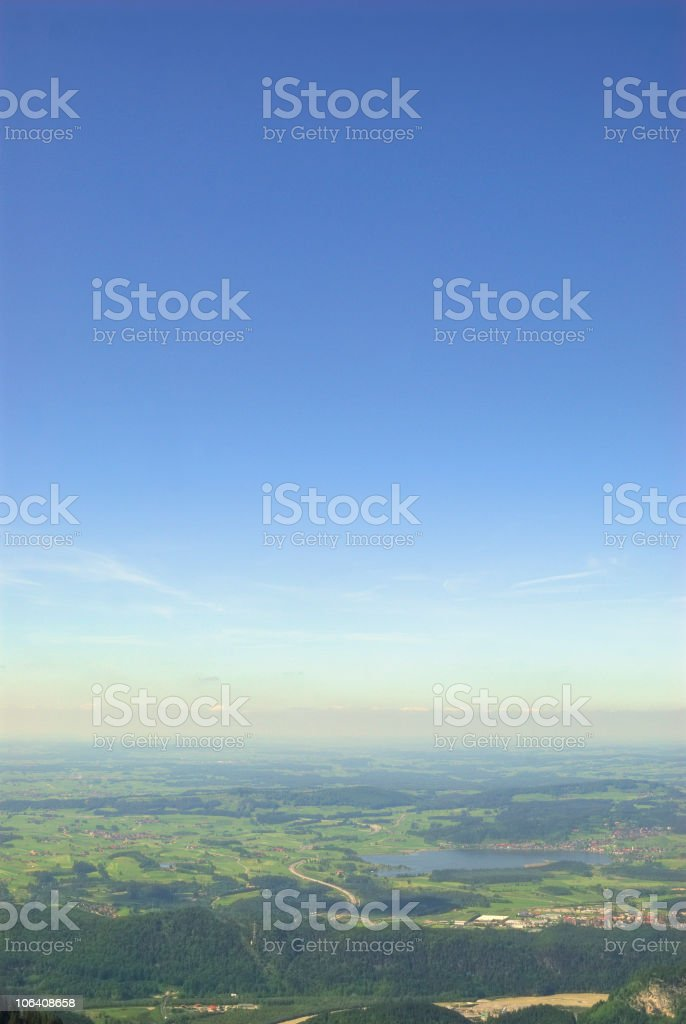 View to germany royalty-free stock photo