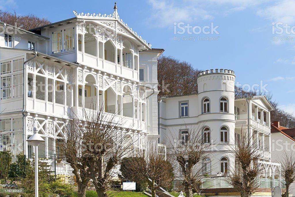 Blick auf die historische holiday villas – Foto