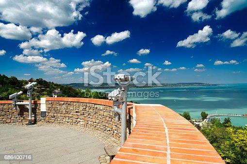 istock View to Lake Balaton from Tihany, Hungary 686400716