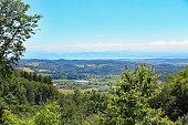 Ausblick zum Bodensee von Heiligenberg aus