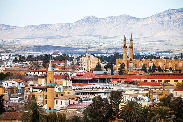 целью никосия, кипр. - cyprus стоковые фото и изображения