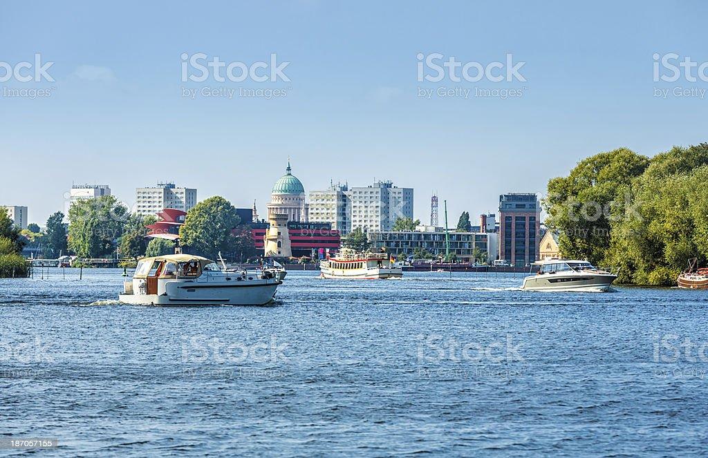 Blick nach Potsdam – Foto