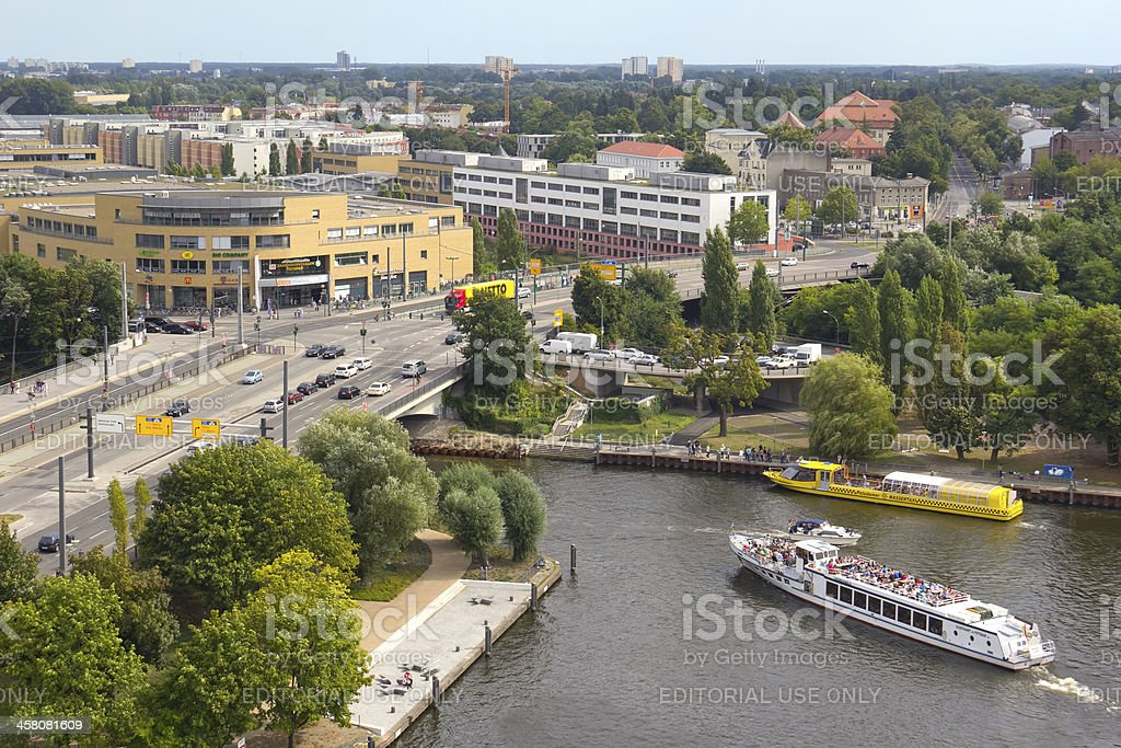 View to Potsdam stock photo