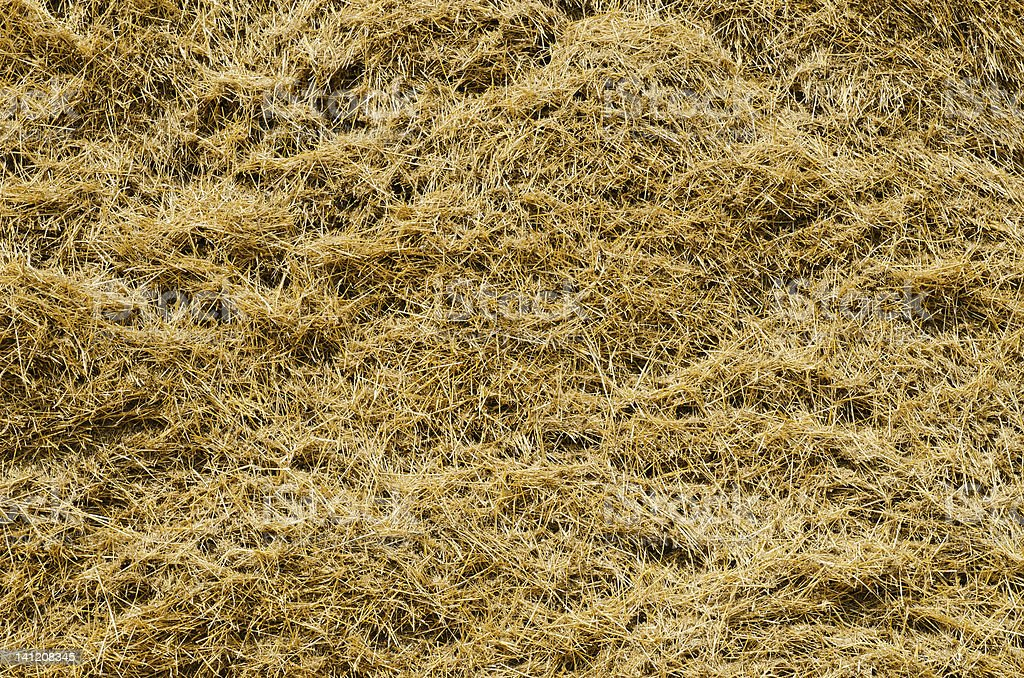 View to straw closeup as background royalty-free stock photo