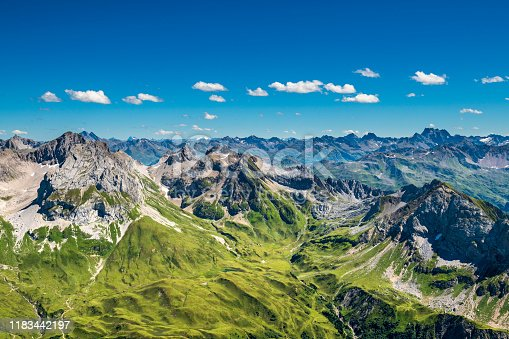 istock View to the Alps in Austria 1183442197