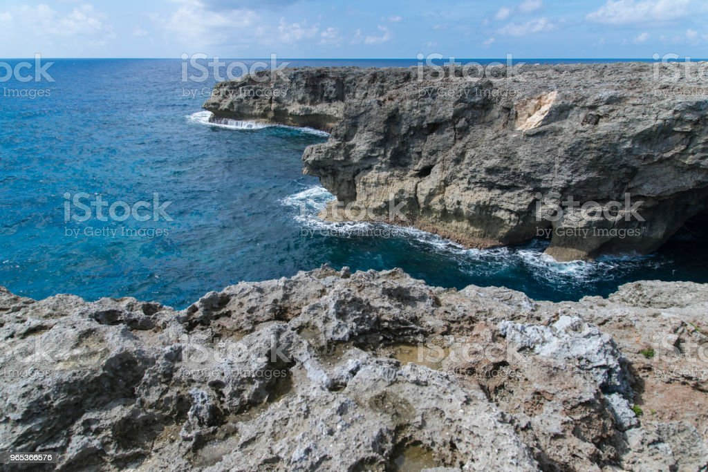 View to the Cape Takanazaki, Hateruma-jima (Yaeyama) royalty-free stock photo