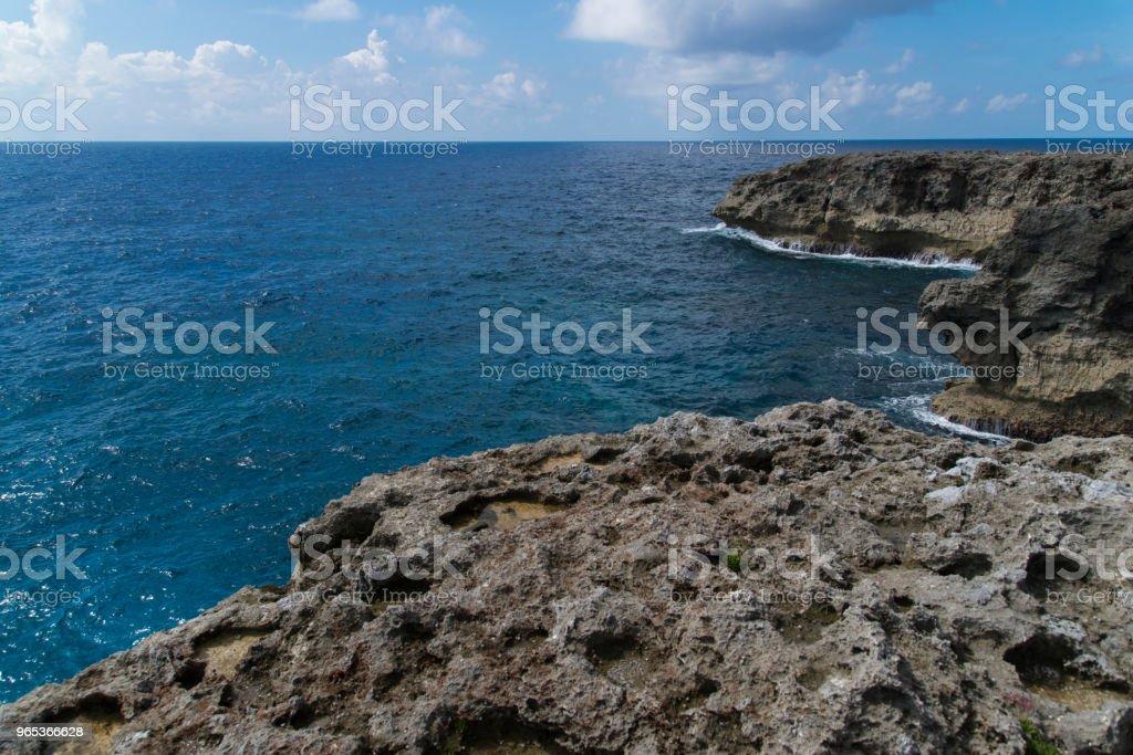 View to the Cape Takanazaki, Hateruma-jima (Yaeyama) zbiór zdjęć royalty-free