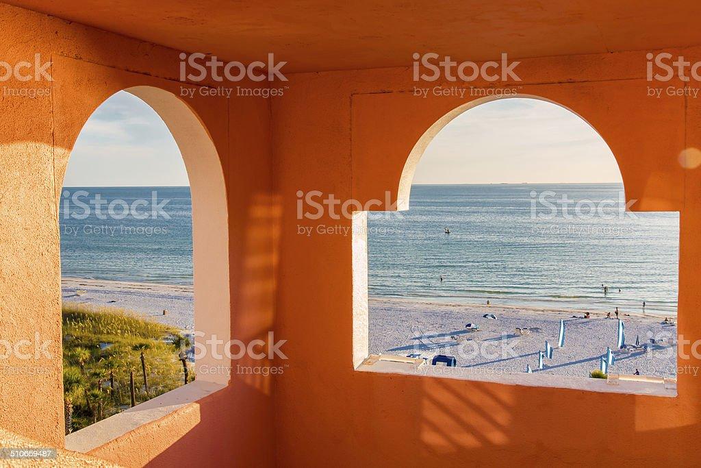 Blick auf das Meer und den Strand – Foto