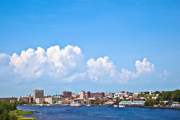 Blick auf den alten Hafen von malerischen Wilmington – Foto
