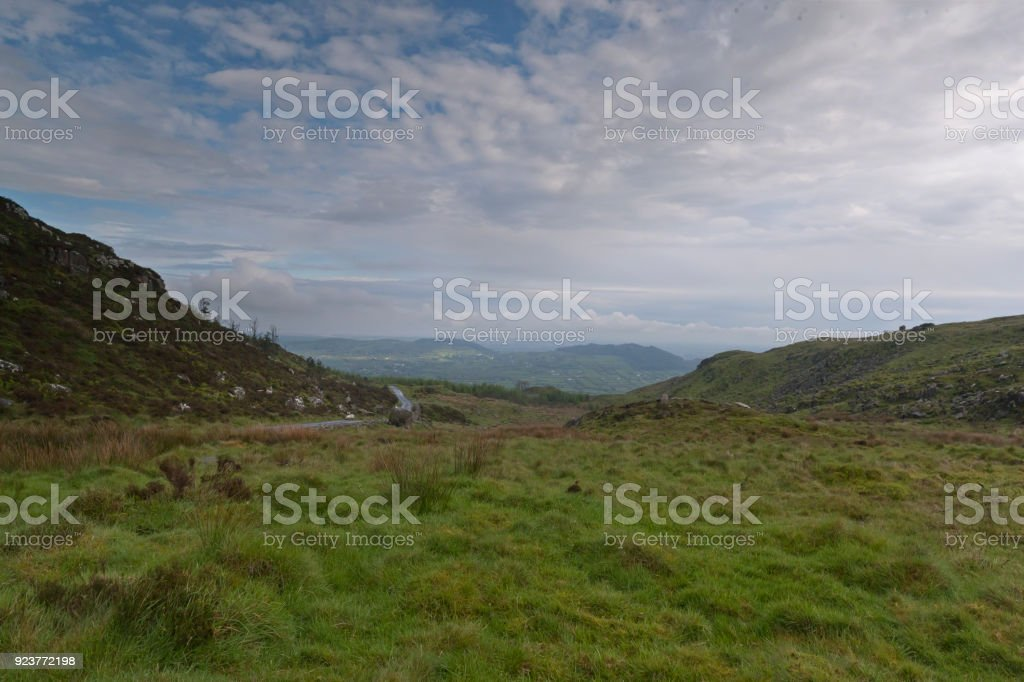 View Toward Dromintee and Ring of Gullion stock photo