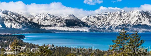 Photo of View towards Lake Tahoe on a sunny clear day