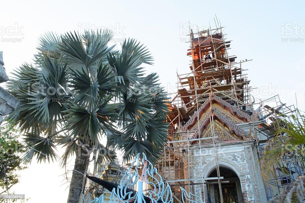View Wat Klang Bang Kaew Temple stock photo