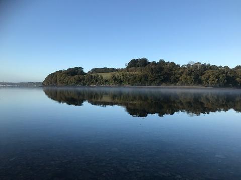 View west across Channals Creek