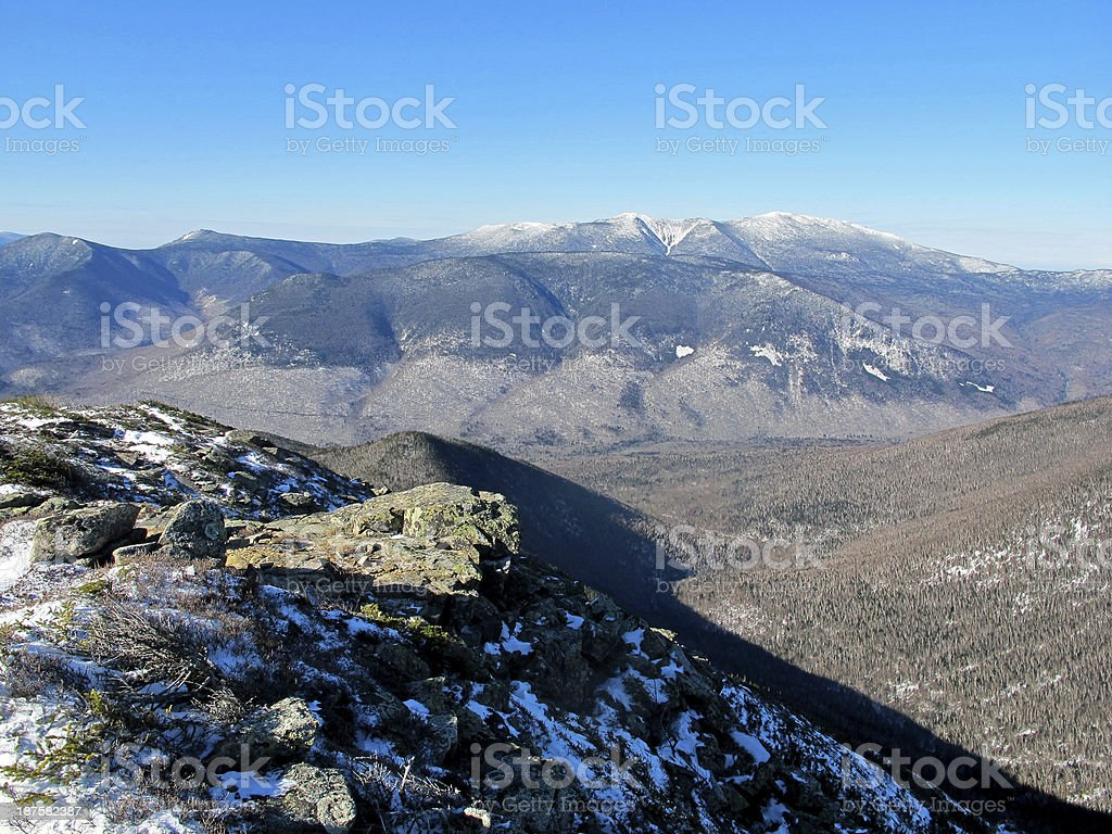 View West from Bondcliff stock photo
