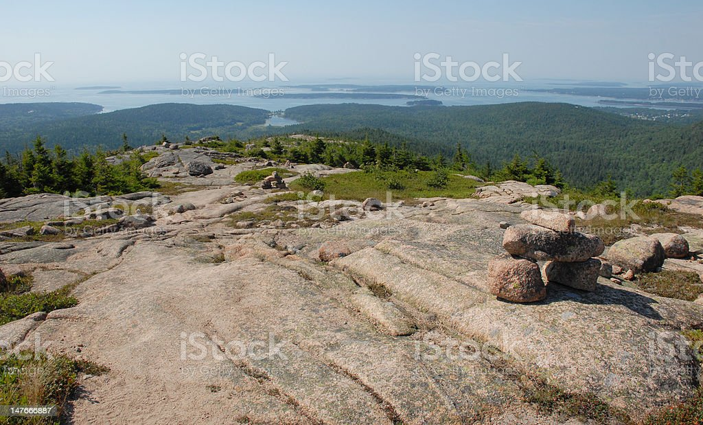 View with a sea stock photo