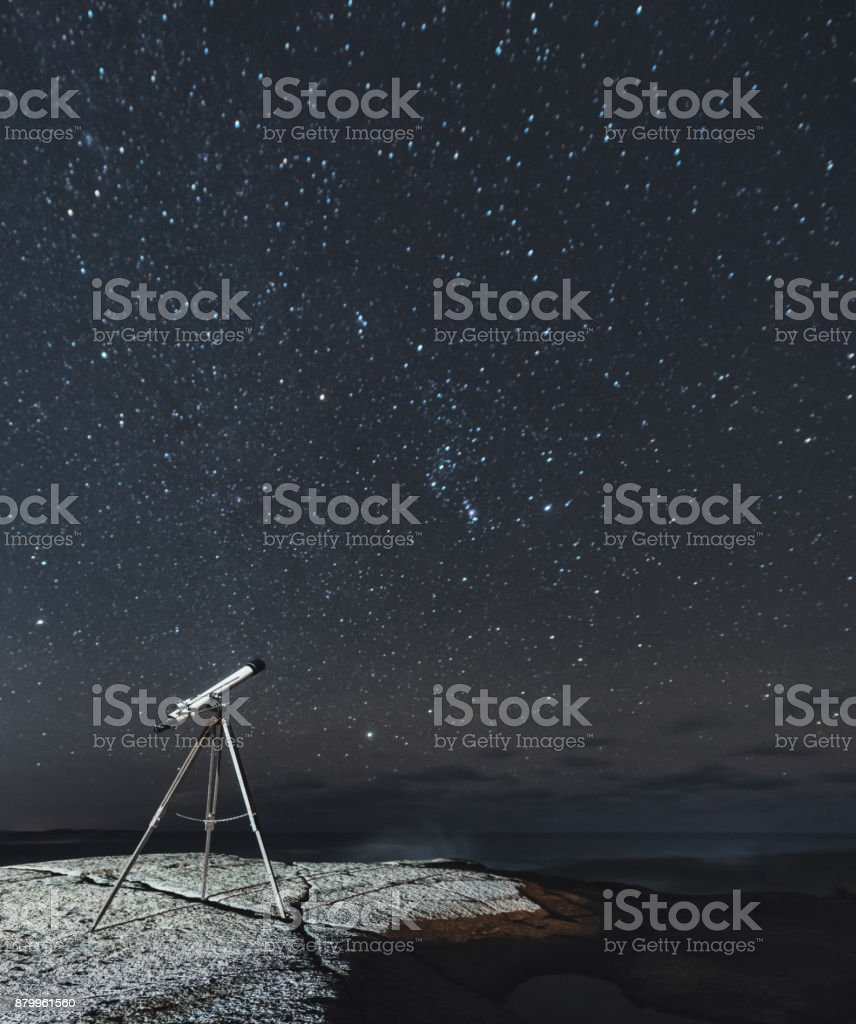 Viewing Orion stock photo