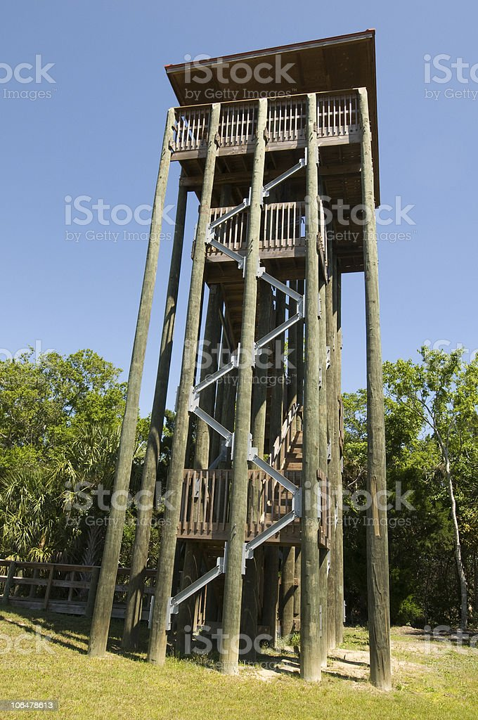 Viewing Tower stock photo