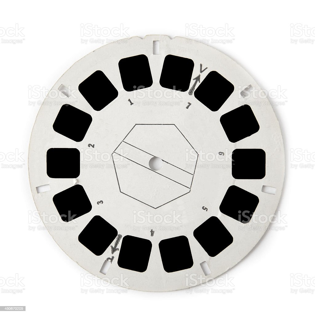 Viewmaster Reel stock photo