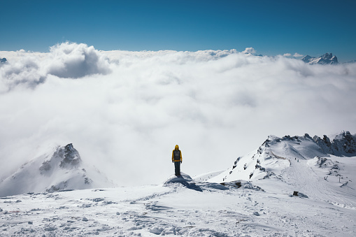 Viewpoint Above The Fog