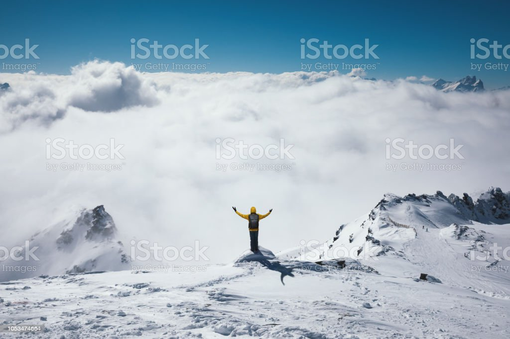 Point de vue au-dessus du brouillard - Photo