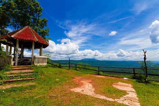 Gezichtspunt En De Lange Berg Chulabhorn Dam Chaiyaphum Thailand Stockfoto en meer beelden van Azië