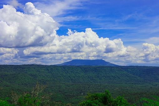 Synvinkel Och Den Långa Bergen På Chulabhorn Dam Chaiyaphum Thailand-foton och fler bilder på Asien