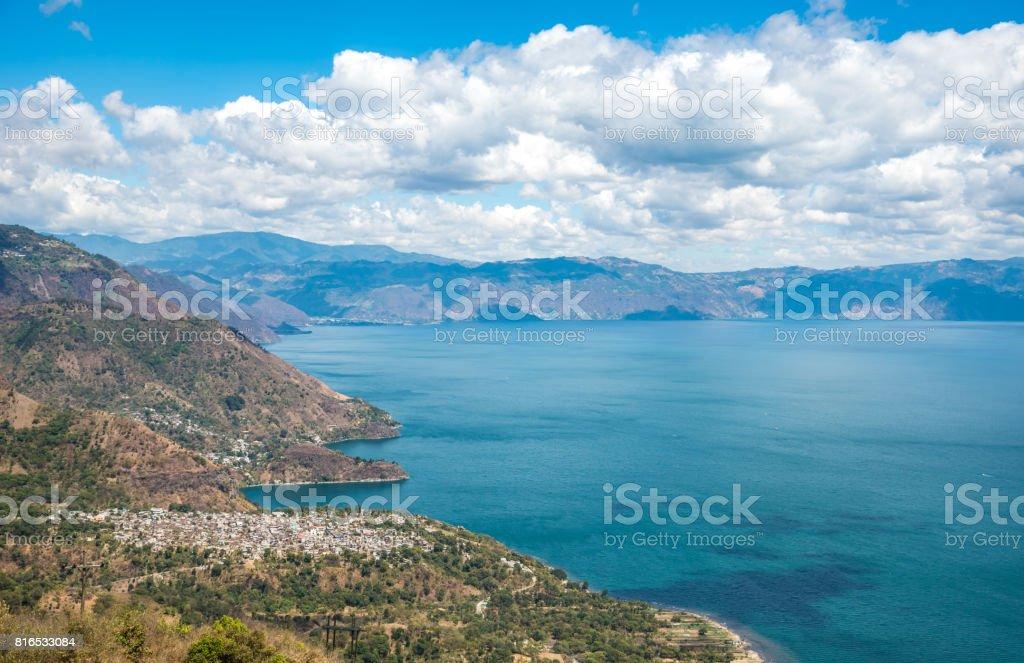 Fotografía de Punto De Vista En El Lago De Atitlán Ver A Los ...