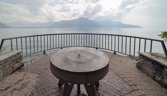 Viewpoint at Montreux in Switzerland