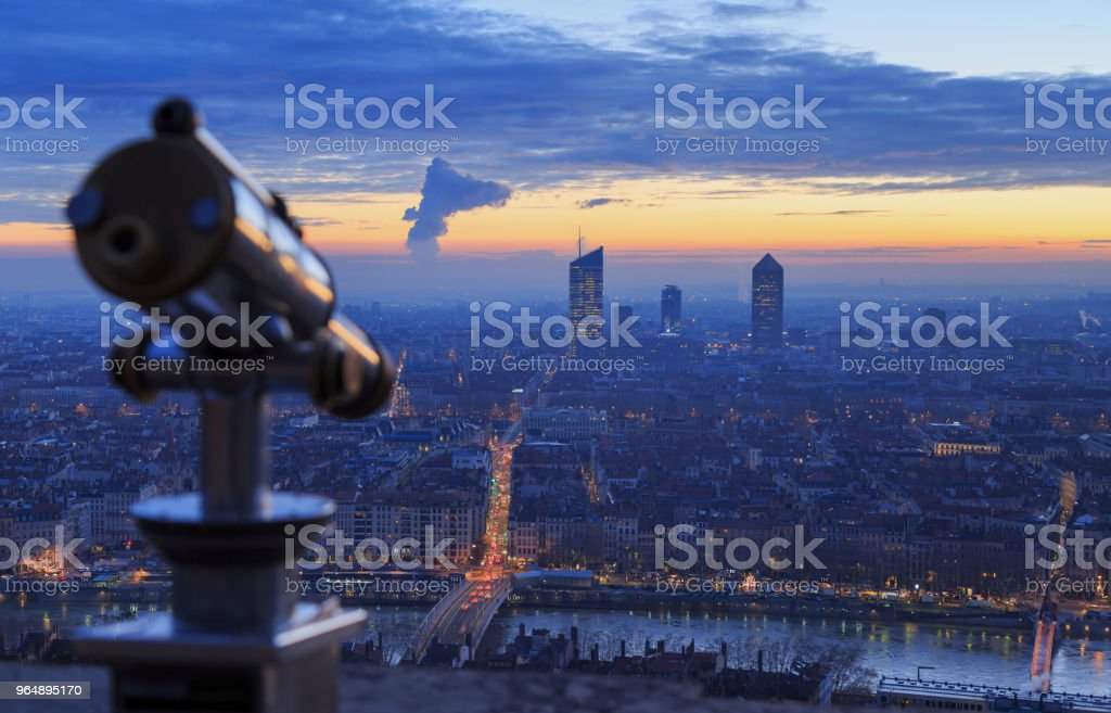 Viewpoint Fourviere royalty-free stock photo
