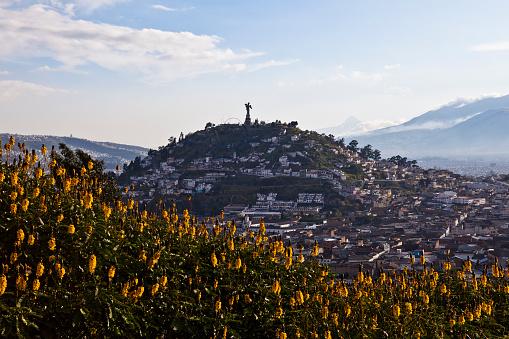 Viewpoint in San Juan, Quito.